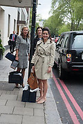 SUSIE COCHINDE; SARA ELSON; BEATRICE NASR, The Foreign Sisters lunch sponsored by Avakian in aid of Cancer Research UK. The Dorchester. 15 May 2012