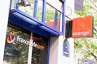 France Telecom & Orange shop, Paris.