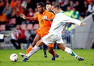 17-10-2007: Voetbal: Nederland-Slovenie: Eindhoven<br /> Ryan Babel mocht in de tweede helft nog even invallen<br /> Foto: Geert van Erven