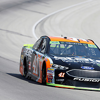 November 02, 2018 - Ft. Worth, Texas, USA: Kurt Busch (41) races off turn four to practice for the AAA Texas 500 at Texas Motor Speedway in Ft. Worth, Texas.