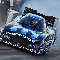 Matt Hagan at Full throttle drag racing series, National Hot Rod Association 2011