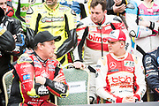 John MCGUINNESS, GBR, Tak Chun Group by PBM DUCATI 1199 PANIGALE, Mick SCHUMACHER, GER, SJM Theodore Racing by PREMA Dallara-Mercedes<br /> <br /> 65th Macau Grand Prix. 14-18.11.2018.<br /> Suncity Group Macau Motorcycle Grand Prix - 52nd Edition.<br /> Macau Copyright Free Image for editorial use only