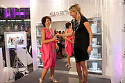 NATHALIE COLIN; NADJA SWAROVSKI, The opening of the Swarovski  Flagship Store on 321 Oxford St. London. 15 September 2010. -DO NOT ARCHIVE-© Copyright Photograph by Dafydd Jones. 248 Clapham Rd. London SW9 0PZ. Tel 0207 820 0771. www.dafjones.com.