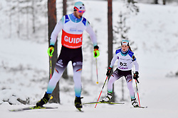 RECKTENWALD Johanna Guide: SCHMIDT Simon, GER, B2 at the 2018 ParaNordic World Cup Vuokatti in Finland