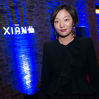 Guest attend the Xian Bar opening party at the Swire's new East Beijing Hotel in Beijing on 21 September 2012.