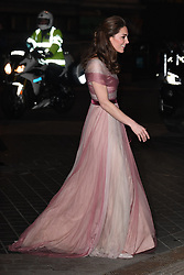 The Duchess of Cambridge attends the 100 Women in Finance Gala Dinner, in aid of Mentally Healthy Schools, at the V. 13 Feb 2019 Pictured: The Duchess of Cambridge attends the 100 Women in Finance Gala Dinner, in aid of Mentally Healthy Schools, at the V. Photo credit: James Whatling / MEGA TheMegaAgency.com +1 888 505 6342