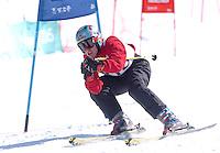 n/z.: Miguel Casado (Hiszpania) Olimpiady Specjalne Igrzyska Zimowe podczas zawodow na stoku Inchinose w Yamanouchi - Japonia , Nagano , 28-02-2005 , fot.: Adam Nurkiewicz / mediasport..Miguel Casado (Spain) Special Olympics Winter Games during alpine skiing competition at Inchinose in Yamanouchi - February 28, 2005 , Japan , Nagano ( Photo by Adam Nurkiewicz / mediasport )