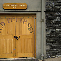 One of the Duty Free Warehouse for the Old Pulteney Whisky distillery, The Old Pulteney is famous for its distinctive salty flavour Wick (Caithness) Scotland Aug 5 2007