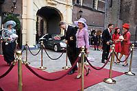 Nederland. Den Haag, 16 september 2008.<br /> Prinsjesdag.<br /> Donner, Eurlings en Verburg arriveren op het Binnenhof.<br /> Foto Martijn Beekman<br /> NIET VOOR PUBLIKATIE IN LANDELIJKE DAGBLADEN.
