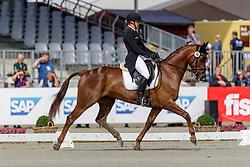 Marzahl Nadine, GER, Valentine 18<br /> European Championship Eventing<br /> Luhmuhlen 2019<br /> © Hippo Foto - Dirk Caremans