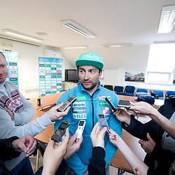 20180405: SLO, Nordic Ski - Press conference of Sloski and new coach Goraz Bertoncelj