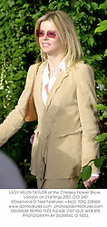 LADY HELEN TAYLOR at the Chelsea Flower Show, London on 21st May 2001.		OOI 240