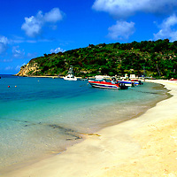 Beach in Anguilla, British West Indies