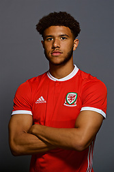 CARDIFF, WALES - Tuesday, September 4, 2018: Wales' Tyler Roberts. (Pic by David Rawcliffe/Propaganda)