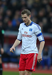 Football: Germany, 1. Bundesliga<br /> Marcell Jansen (Hamburger SV, HSV)