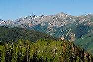 The Elk Mountain Range in the Rocky Mountains near Aspen, CO