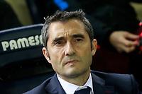 FC Barcelona's coach Ernesto Valverde during La Liga match. December 10,2017. (ALTERPHOTOS/Acero)
