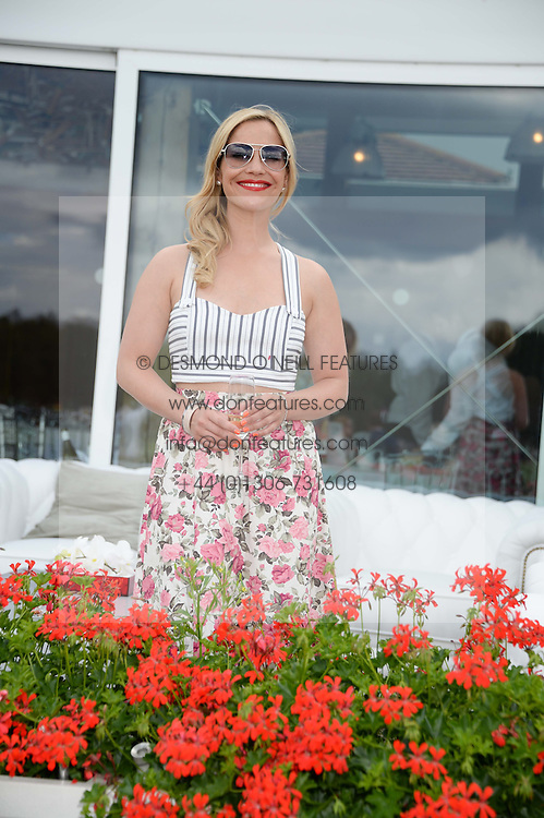 HEIDI RANGE at the Audi International Polo at Guards Polo Windsor Great Park, Egham, Surrey on 28th July 2013.