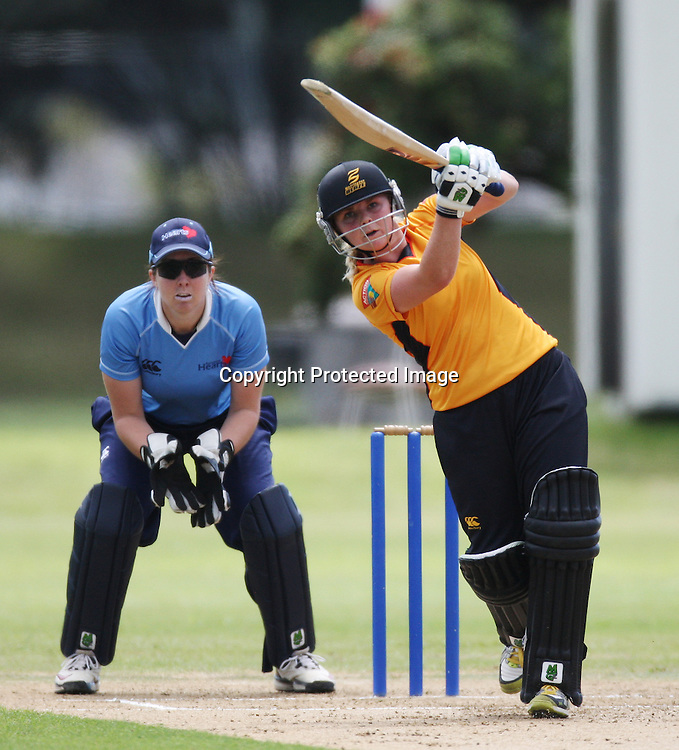 Lucy Doolan. Women's One Day Cricket, Action Cricket Cup, Auckland Hearts v Wellington Blaze, Colin Maiden Park, Ground 2, Auckland, Saturday 15 January 2011, . Photo: Ella Brockelsby/photosport.co.nz