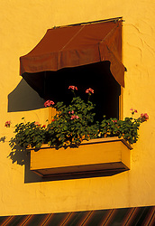 Picture window in Santa Fe, New Mexico.