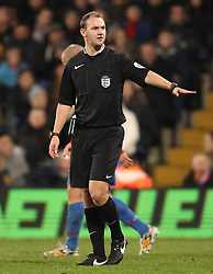 Referee Robert Madley - Photo mandatory by-line: Robbie Stephenson/JMP - Mobile: 07966 386802 - 14/02/2015 - SPORT - Football - London - Selhurst Park - Crystal Palace v Liverpool - FA Cup - Fifth Round