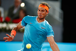 May 11, 2019 - Madrid, MADRID, SPAIN - Rafael Nadal (ESP) during the Mutua Madrid Open 2019 (ATP Masters 1000 and WTA Premier) tenis tournament at Caja Magica in Madrid, Spain, on May 11, 2019. (Credit Image: © AFP7 via ZUMA Wire)