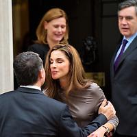 King Abdullah of Jordan at Downing Street