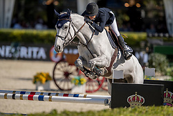 Ekberg Jonna, SWE, Destiny van Schore<br /> Longines FEI Jumping Nations Cup™ Final<br /> Barcelona 20128<br /> © Hippo Foto - Dirk Caremans<br /> 05/10/2018