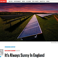 Solar Panels, Isle of Wight, The Daily Beast, © Patrick Eden