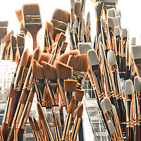 Paint brushes, Commercial Photography by Pettepiece Photography, Tucson, Phoenix