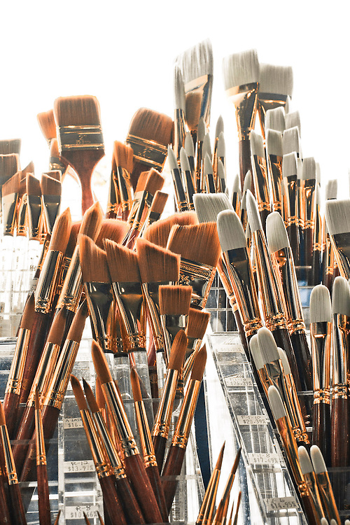 Paint brushes, Commercial Photography by Pettepiece Photography, Olympia, Tacoma Seattle, Portland