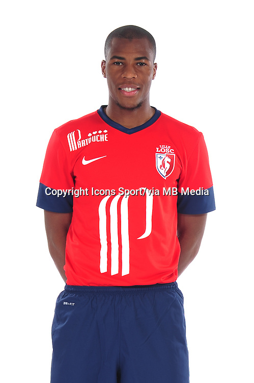 Djibril SIDIBE - 10.09.2013 - Photo officielle - Lille - Ligue 1 <br /> Photo :  Icon Sport