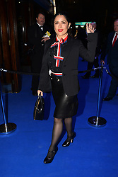© Licensed to London News Pictures. 21/03/2017. SALMA HAYEK attends the opening night performance of An American In Paris  at the Dominion Theater. London, UK. Photo credit: Ray Tang/LNP
