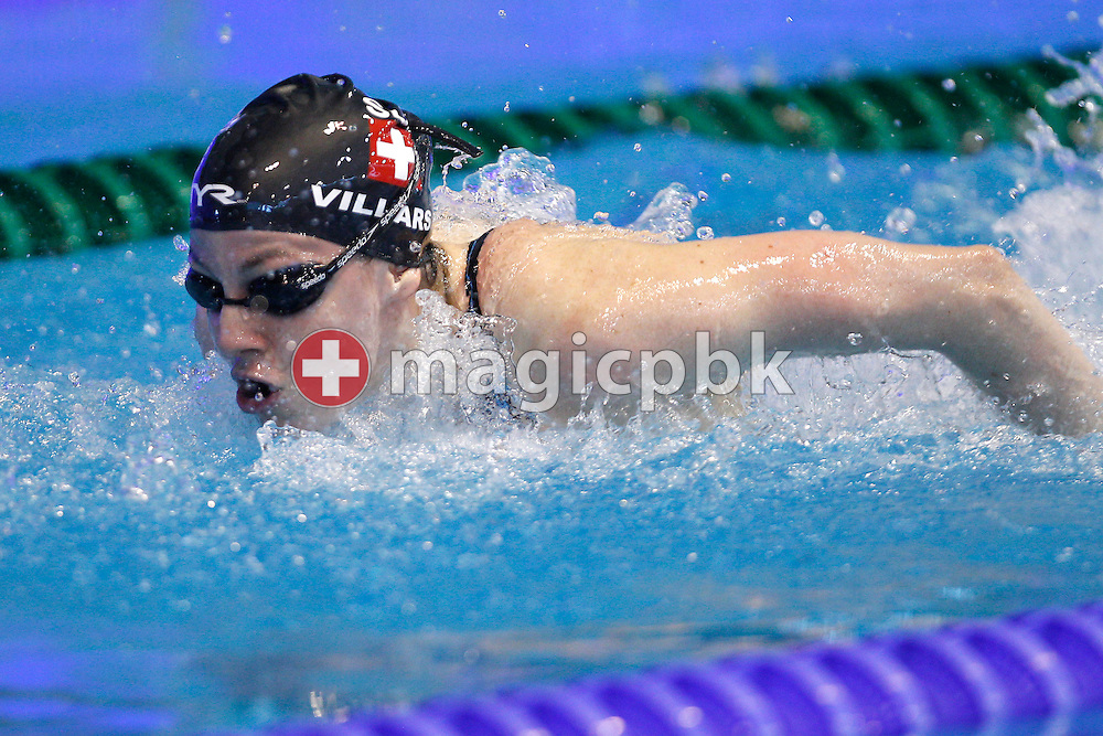 Danielle Villars of Switzerland competes in the women's 50m Butterfly Heats during the 31st LEN European Swimming Championships in Debrecen, Hungary, Monday, May 21, 2012. (Photo by Patrick B. Kraemer / MAGICPBK)