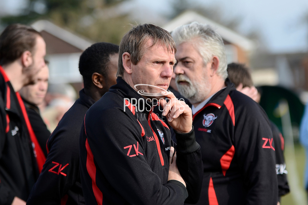 GLOUCESTERSHIRE, ENGLAND – MARCH 12: Stuart Pearce makes his debut for non-league Longford AFC as part of the #directfix campaign by Direct Line. On touchline