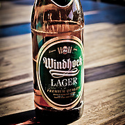 Photos of Nambia can not be complete without a photo of the local brew. Windhoek Lager. Windhoek is pronounced Vindhook.