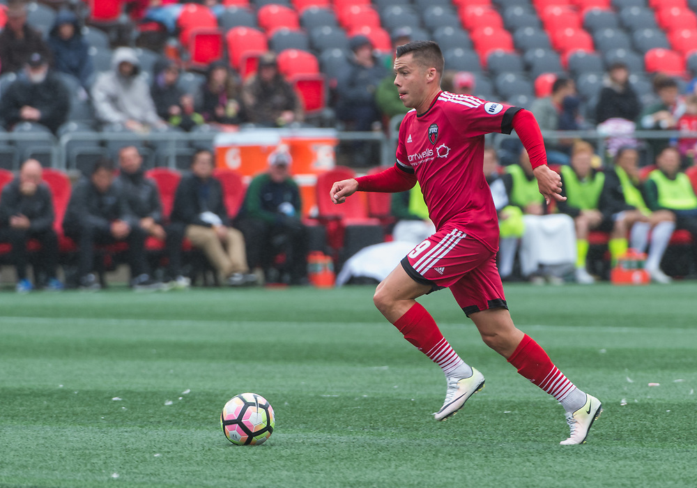 OTTAWA, ON - SEPTEMBER 03: USL match between the Ottawa Fury FC and Saint Louis FC at TD Place Stadium in Ottawa, ON. Canada on Sept. 3, 2017.<br /> <br /> PHOTO: Steve Kingsman/Freestyle Photography/Ottawa Fury FC