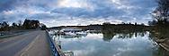 River Thames at Cookham Bridge, Berkshire, Uk