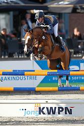 587 - Chelsea - Hoogenraat Kim<br /> 7 Jarige Springen<br /> KWPN Paardendagen - Ermelo 2014<br /> © Dirk Caremans