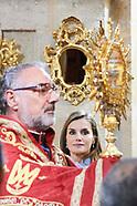 112817 Spanish Royals visit Caravaca de la Cruz
