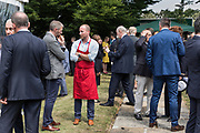 London, England, UK, July 12 2018 - Bastille Day party at the French Ambassador's Residence in UK.