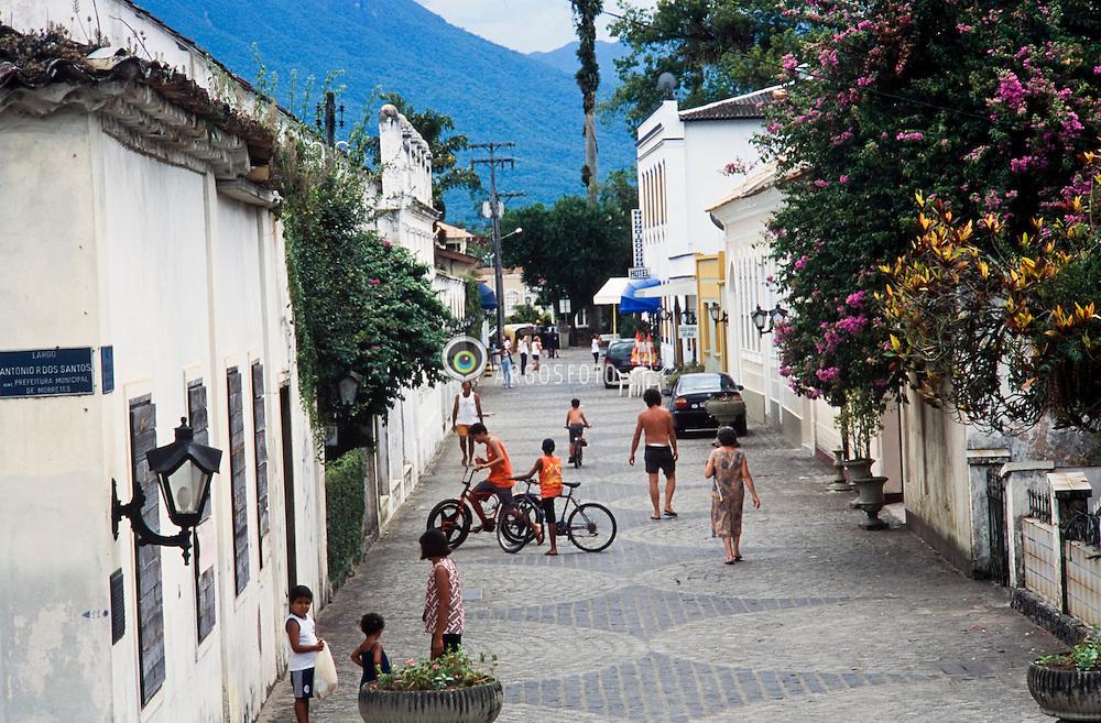 Cidade de Morretes, Parana, Brasil/ Morretes city, state of Parana, Brazil