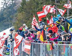 22.02.2019, Seefeld, AUT, FIS Weltmeisterschaften Ski Nordisch, Seefeld 2019, Nordische Kombination, Langlauf, im Bild Fans // fans during the Cross Country Competition of Nordic Combined for the FIS Nordic Ski World Championships 2019. Seefeld, Austria on 2019/02/22. EXPA Pictures © 2019, PhotoCredit: EXPA/ Stefan Adelsberger