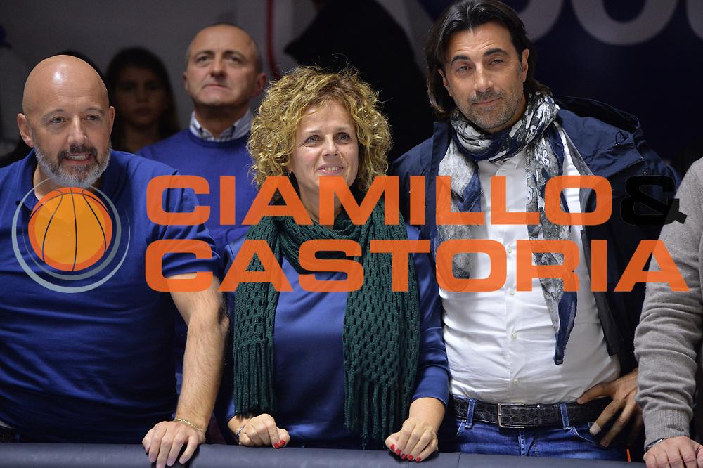 Bragaglio Graziella<br /> Happycasa Brindisi - Germani Basket Brescia<br /> Legabasket serieA2017-2018<br /> Brindisi , 29/10/2017<br /> Foto Ciamillo-Castoria/M.Longo