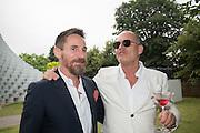 PETER MIKIC; PAUL PRICE, 2016 SERPENTINE SUMMER FUNDRAISER PARTY CO-HOSTED BY TOMMY HILFIGER. Serpentine Pavilion, Designed by Bjarke Ingels (BIG), Kensington Gardens. London. 6 July 2016