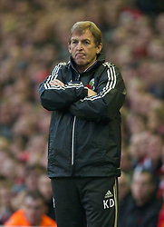 05.11.2011, Anfield Stadion, Liverpool, ENG, Premier League, FC Liverpool vs Swansea City, im Bild Liverpool's manager Kenny Dalglish // during the premier league match between FC Liverpool vs Swansea City at Anfield Stadium, Liverpool, EnG on 05/11/2011. EXPA Pictures © 2011, PhotoCredit: EXPA/ Propaganda Photo/ David Rawcliff +++++ ATTENTION - OUT OF ENGLAND/GBR+++++