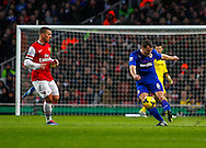 Picture by Mike  Griffiths/Focus Images Ltd +44 7766 223933<br /> 01/01/2014<br /> Ben Turner of Cardiff City during the Barclays Premier League match at the Emirates Stadium, London.