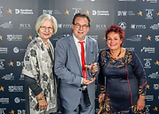Scottish Border of Chamber Border Busines awards, 2017, held at Springwood Hall.<br /> <br /> 'Creative Industry Business of the Year' winner All Awards, based in Jedburgh. Sponsored by Borders Chartered Certified Accountants (BCCA)