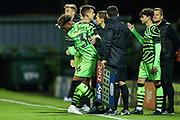 Forest Green Rovers Isiah Jones(36) comes on to make his competitive debut  during the EFL Trophy match between Forest Green Rovers and U21 Southampton at the New Lawn, Forest Green, United Kingdom on 3 September 2019.