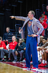 NORMAL, IL - December 31:  Dan Muller during a college basketball game between the ISU Redbirds and the University of Northern Iowa Panthers on December 31 2019 at Redbird Arena in Normal, IL. (Photo by Alan Look)
